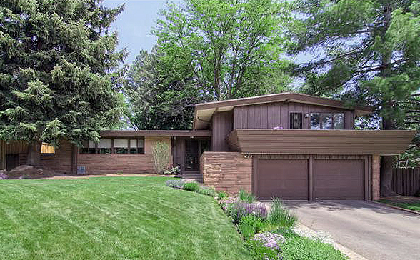 Mid century modern homes for sale in denver for Mid century modern homes denver