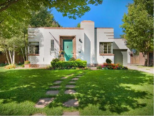 Auto Garage For Sale Denver: 1940's Art Deco Home For Sale In Denver