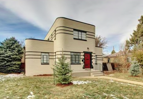International Style Intersects with Streamline Moderne