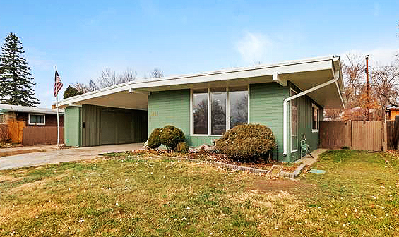 Denver mid century homes for sale week of nov 27 2017 for Mid century modern homes denver