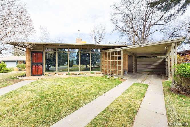 Denver mid century modern retro ranch homes for sale for Mid century modern homes denver